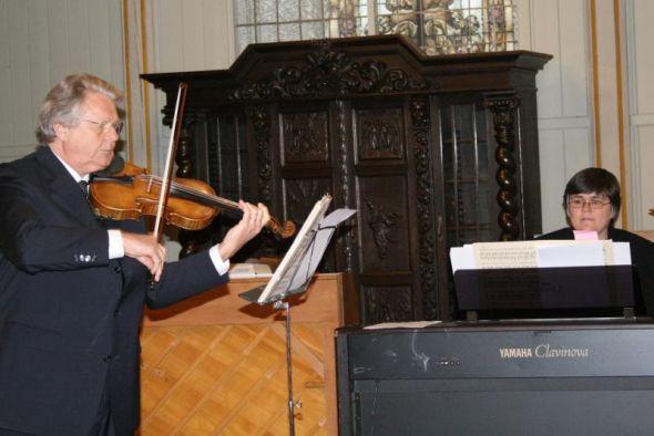 Detlef Krull und Dorothea Peppler im Einklang