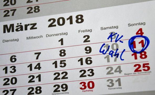 Am 11. März 2018 werden die Kirchenvorstände neu gewählt.