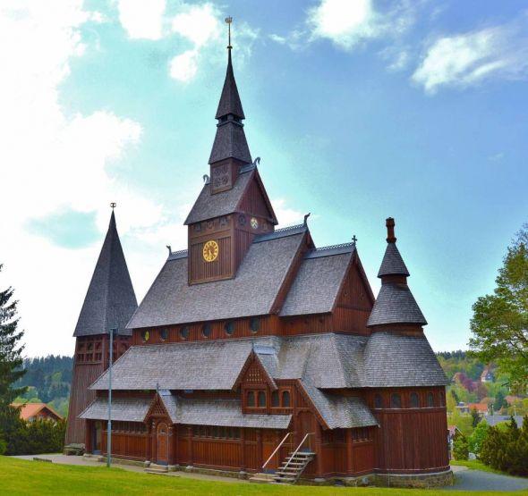 Die Kirche in Hahnenklee ist ein touristischer Anziehungspunkt.