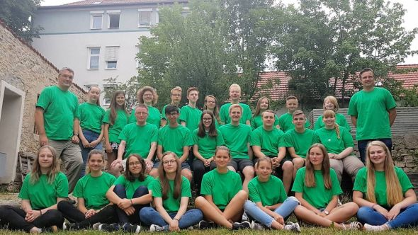 Das starke Team fürs Konficamp. (Foto: Axel Peter)