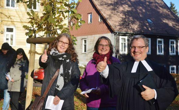 Zellerfeld - Pastor André Dittmann hatte gewettet ...
