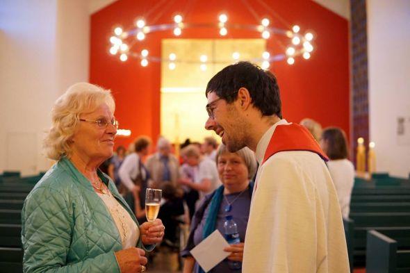 Pastor Gerhard Bergner (Foto Mareike Spillner)