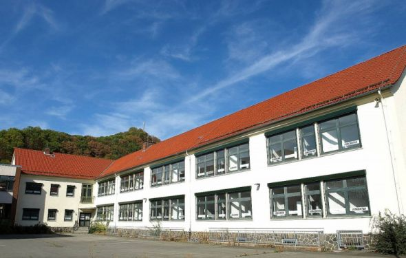 Jobcenter in der ehemaligen Lutterbergschule. Archivfoto: Boris Janssen