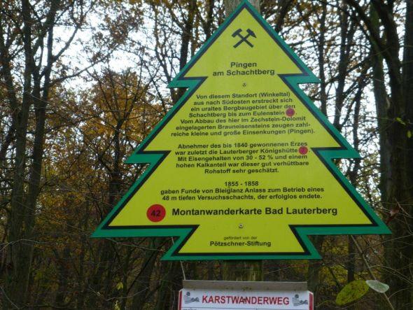 42. Punkt Pingen am Schachtberg
