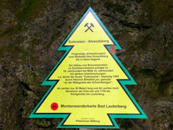 44. Punkt: Eulenstein - Ahrendsberg.